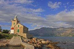 Lighthouse on hvar island, croatia Stock Photos