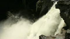 Nairn Falls, Whistler, BC Stock Footage