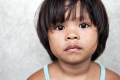 Young girl in the philippines Stock Photos