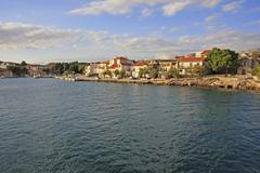 Waterfront of hvar town, hvar island, croatia Stock Photos