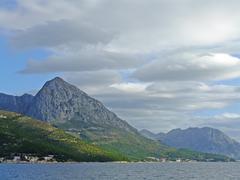 Coast of croatia near hvar island Stock Photos