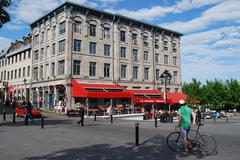 Stock Photo of Montreal Square  in Montreal, Canada