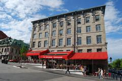 Montreal Square in Montreal, Canada - stock photo