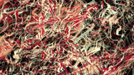 System of particles - loop (7) Stock Footage