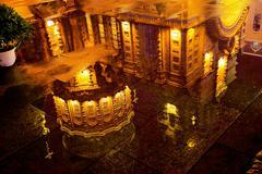 saint sofia russian orthodox church reflection harbin china - stock photo