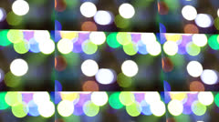 Lights Design Abstract Art Stock Footage