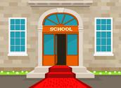 Stock Illustration of welcome to school