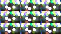Lights Design Abstract Art Stock Footage