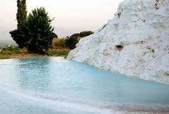Landscape of Pamukkale, Turkey, Stock Photos
