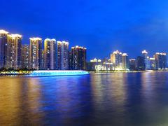 cityscape in guangzhou china - stock photo
