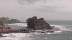 TANAH LOT BALI TIME LAPSE Stock Footage