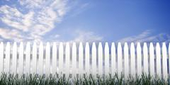 Stock Illustration of 3d: fence