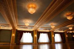ballroom - stock photo