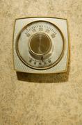 Retro thermostat Stock Photos