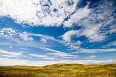 Vast empty landscape Stock Photos