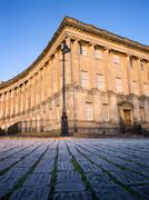Section of royal crescent , bath Stock Photos