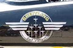 Breitling Jet Team Under The Royal Sky - stock photo