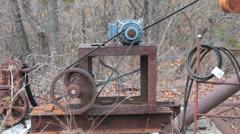 Oil Pump Motor I Stock Footage