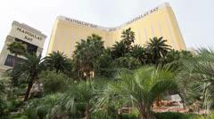 Mandalay Bay Hotel and Casino Resort, Las Vegas Stock Footage