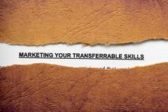 Marketing your skills Stock Illustration
