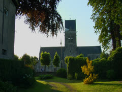 NORMANDY, SAINTE-MERE-EGLISE Stock Footage