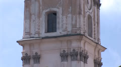 Fortified Carmelite monastery e Stock Footage