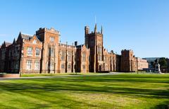 queen's university in belfast, northern ireland - stock photo
