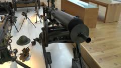The Historical de la Grande Guerre Museum, Peronne, Somme, France. Stock Footage