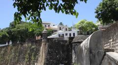Old San Juan's Door - stock footage