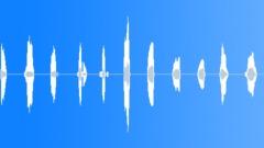 Radio countdown male voice - sound effect