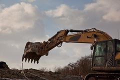 Excavator arm Stock Photos