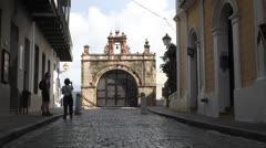 Capilla del Cristo - Old San Juan - stock footage