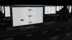Social Media Spyroom 1 720 Stock Footage