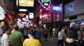 Walking Street. Pattaya City, Thailand. Footage