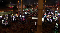 Casino Floor Stock Footage
