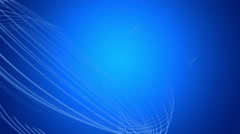 Blue looping Motion Background Stock Footage