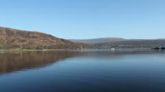 Loch Linnhe Fort William Scotland Stock Footage