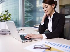 Asian businesswoman Stock Photos