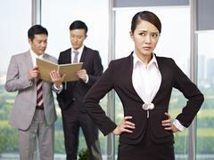 Aasian liikemiehet Kuvituskuvat
