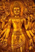 Avalokitesvara in thailand Stock Photos