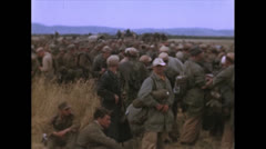 WW2-Color720p-CapturedItalienSoldiers02 Stock Footage