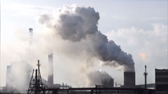 Ecological disaster Stock Footage