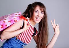 Stock Photo of beautiful young woman