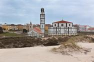 Stock Photo of costa nova (aveiro, portugal) church view