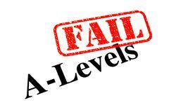 Failed A-Levels Stock Photos