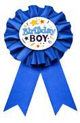Birthday Badge - stock photo