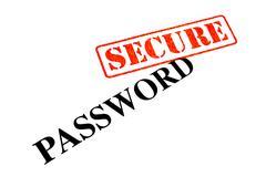 Password Secure - stock photo