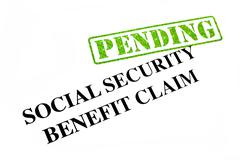 Social Security Benefit Claim Pending Stock Photos