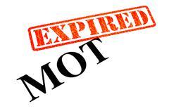 MOT Expired Stock Photos