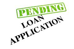 Loan Application Pending Stock Photos